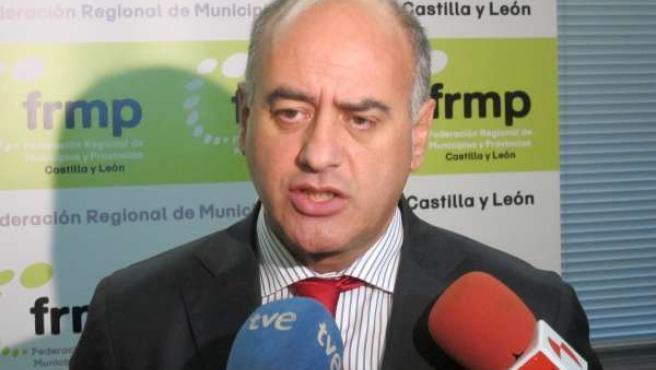 El presidente de la FRMP, Miguel Ángel García Nieto