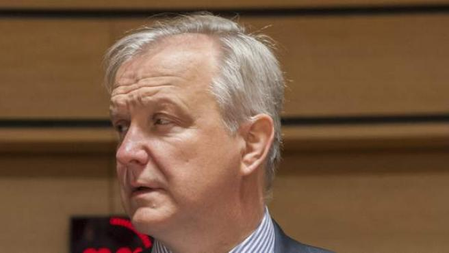El vicepresidente de la CE, Olli Rehn