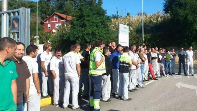 Imagen de la huelga (Archivo)
