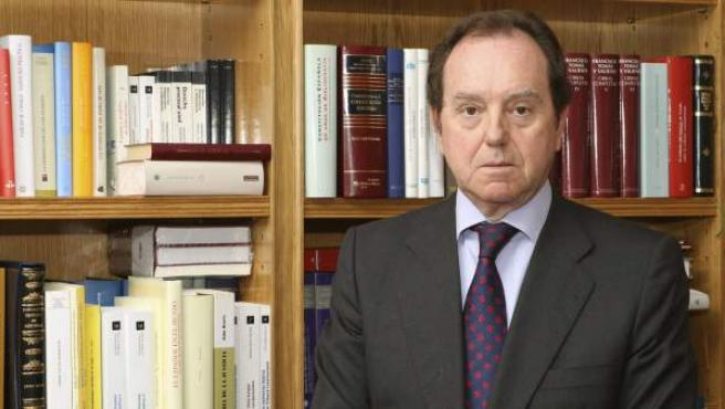 El abogado Jaime Alfonsín Alfonso, nuevo jefe de la Casa del Rey tras ser designado por Felipe VI.