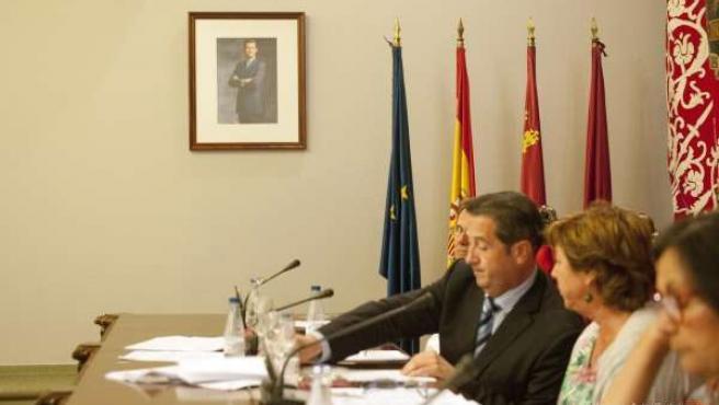 Imagen del Pleno ordinario en Cartagena