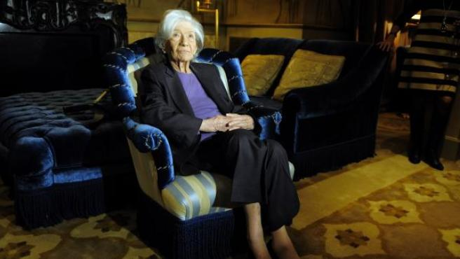 La escritora Ana María Matute.