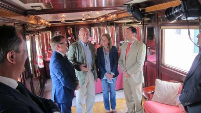 El Tren Al Andalus Ha Llegado A Extremadura En Su Primer Viaje Turístico