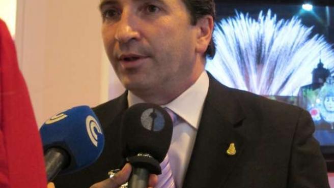 José Antonio Domínguez, en Fitur