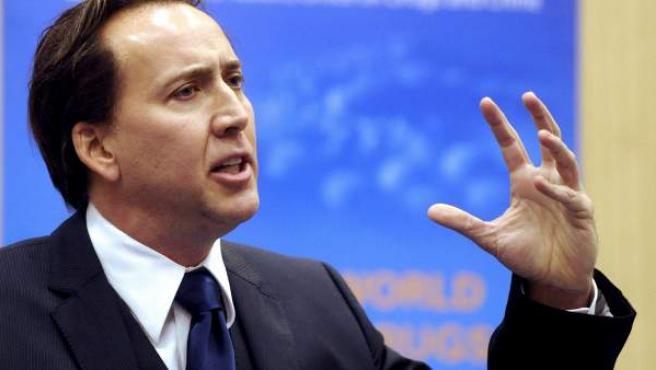 Nicolas Cage, en una imagen de archivo.