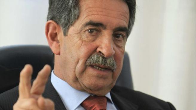 El político Miguel Ángel Revilla en una imagen de 2012.