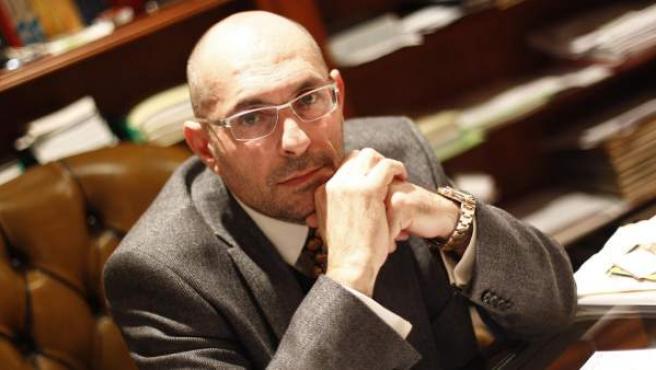 El juez Elpidio Silva, en su domicilio de Madrid