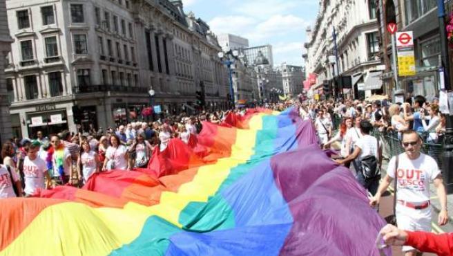 Marchas y manifestaciones en todo el mundo para defender la libertad sexual.