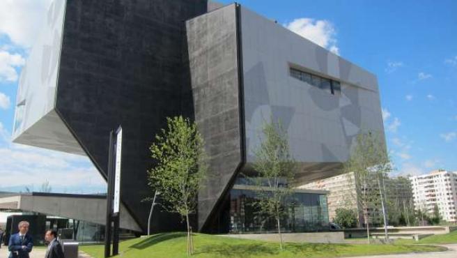 CaixaForum Zaragoza se ha sumado este año a la Noche en Blanco.