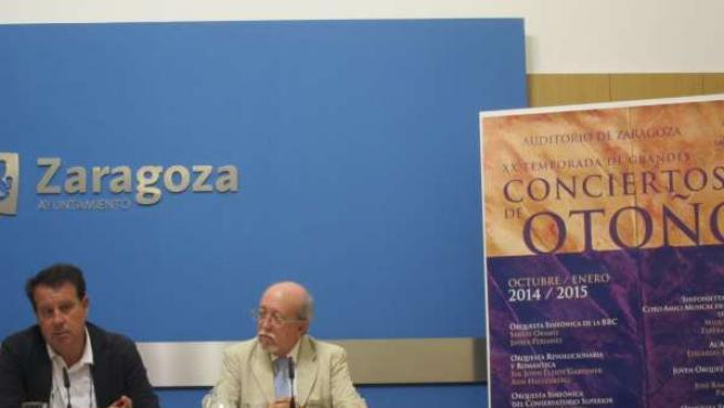 Presentación XX Temporada de Grandes Conciertos de Otoño del Auditorio