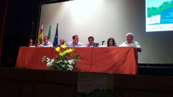 Inauguración de las jornadas organizadas por Fibgar en Cazorla (Jaén)