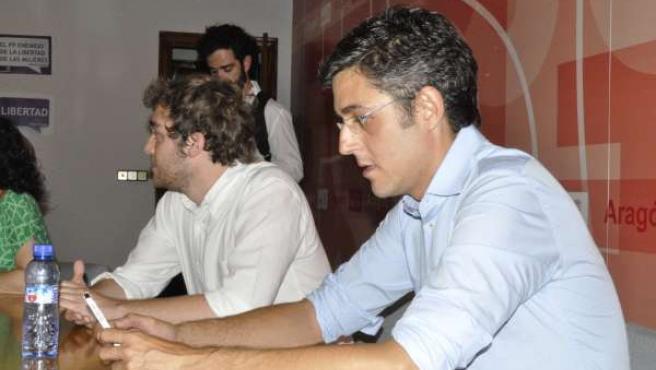 El candidato a la secretaría general del PSOE Eduardo Madina.