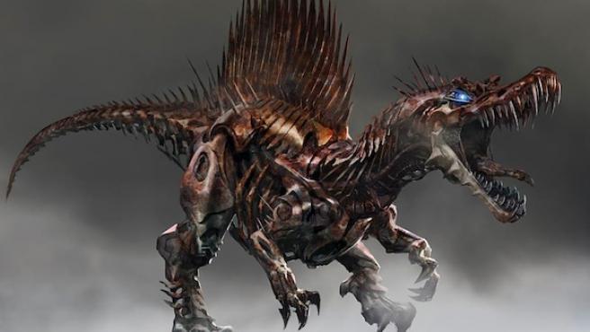 'Transformers: La era de la extinción': Diseños y 'concept art' de los Dinobots