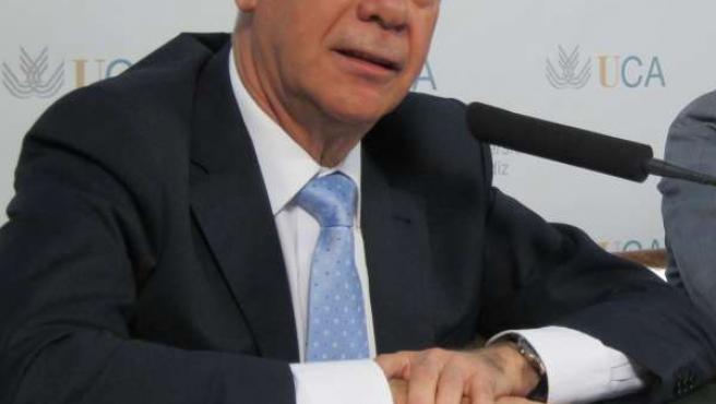 Luciano Alonso, consejero andaluz de Educación, Cultura y Deporte