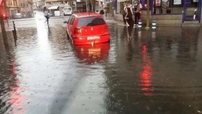 Inundaciones en Talavera