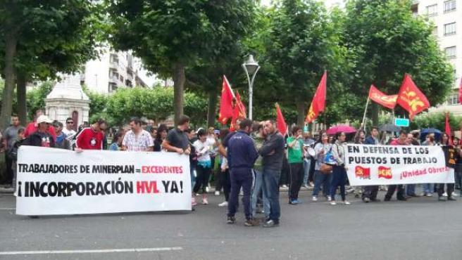 Protesta frente a a Subdelegación del Gobierno