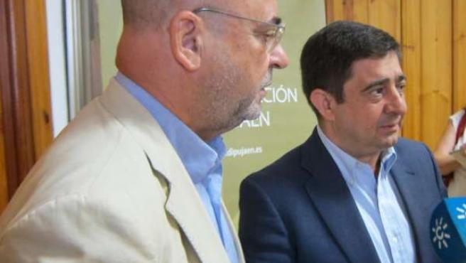 Carlos Rosado y Francisco Reyes