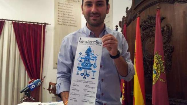 El Concejal de Juventud del Ayuntamiento de Lorca, Agustín Llamas