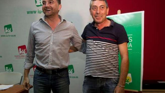 Antonio Maíllo y Laureano Seco