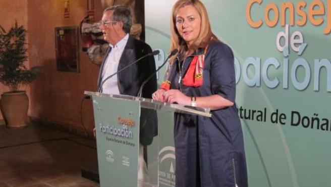 La consejera de Medio Ambiente, María Jesús Serrano.