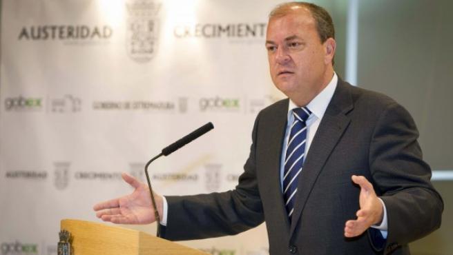 El presidente del Gobierno de Extremadura, José Antonio Monago.
