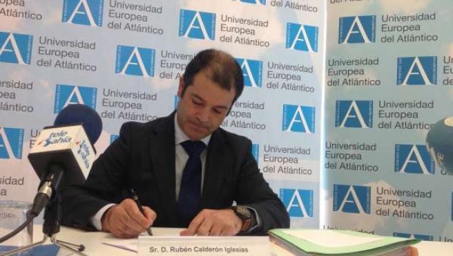 Rubén Calderón, rector de la Universidad Europea del Atlántico