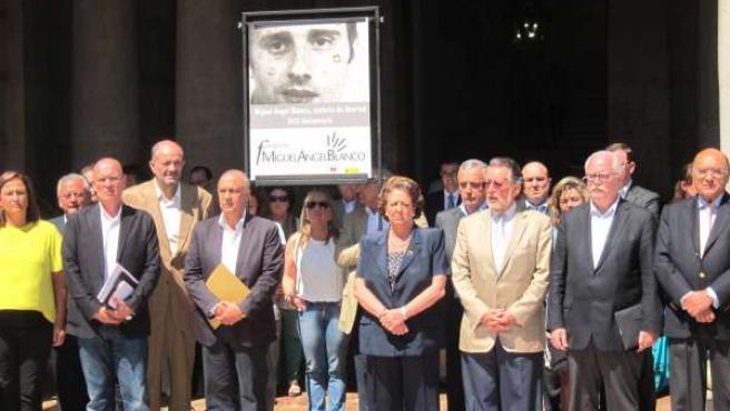 Minuto de silencio por Miguel Ángel Blanco