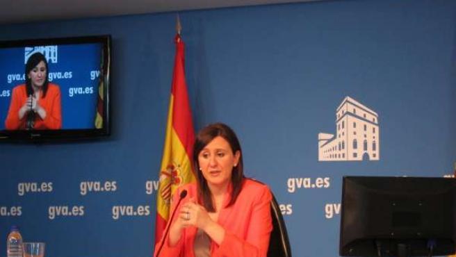 Català en rueda de prensa