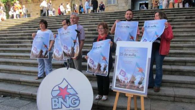 Presentación del Día da Patria, celebración del BNG