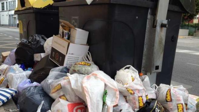 Huelga de la basura en Lugo, el 30 de junio
