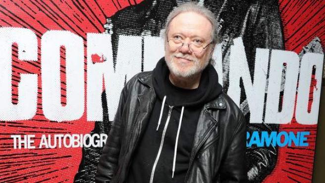 El músico Tommy Ramone, en una imagen tomada en abril de 2012.