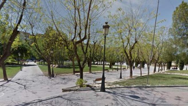 Parque de la Compañía de Molina del Segura, donde se ha producido el homicidio.