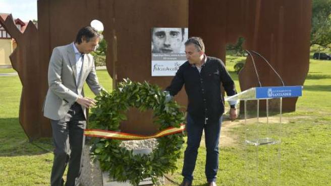 Homenaje a Miguel Ángel Blanco en Santander