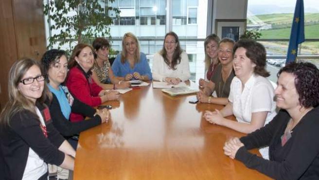 Reunión entre Gobierno de Cantabria y Affamer