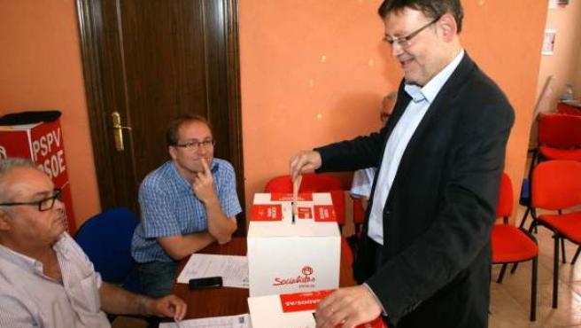 Puig vota en Morella