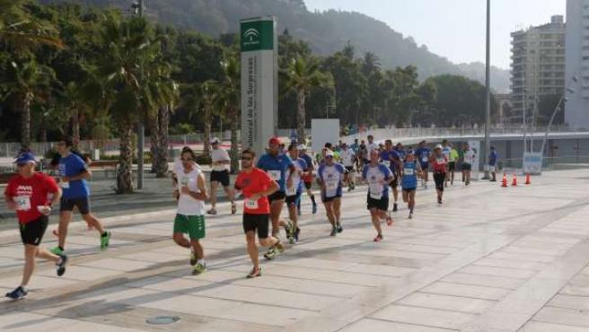 II Carrera Popular 'Día de la Justicia Gratuita y del Turno de Oficio' en Málaga