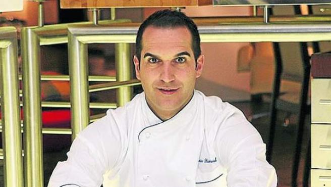 El cocinero Mario Sandoval.