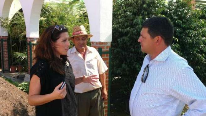 Marina bravo en la repoblación de los municipios de Barranco Blanco