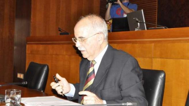 El exconsejero de Economía, Alberto Larraz.