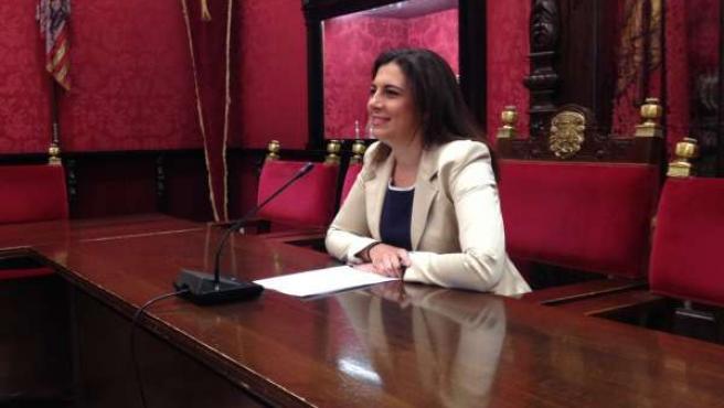 Concejal del PSOE Raquel Ruz