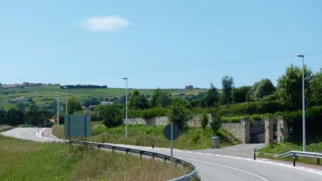 Carretera afectada por el robo de cable de cobre