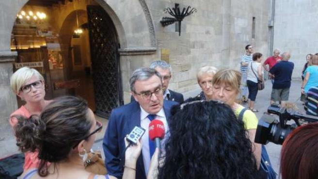 El alcalde de Lleida Àngel Ros