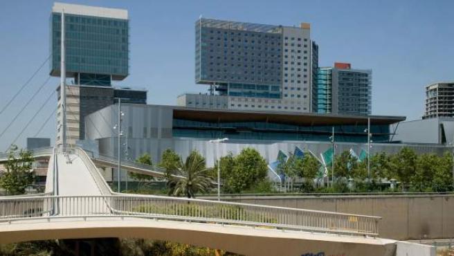 Imagen del recinto Fórum de Barcelona.