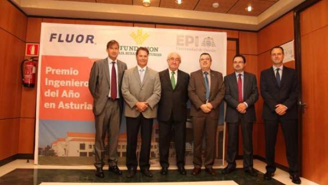 Miembros del jurado del I Premio Ingeniero del Año