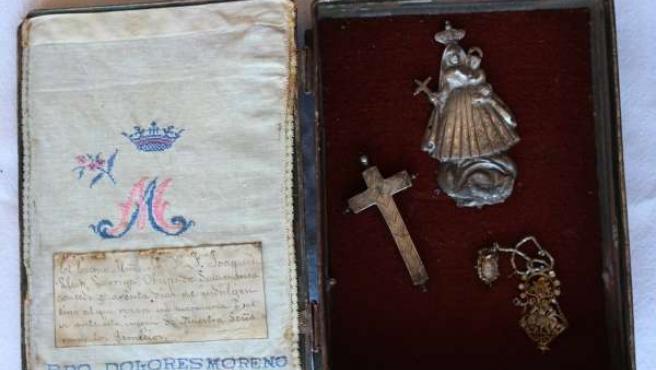 Caja capilla Virgen de los Remedios