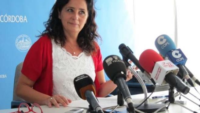 La teniente de alcalde delegada de Movilidad, Ana Tamayo