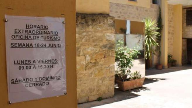 Oficina de turismo de la Junta de Andalucía en Úbeda (Jaén)