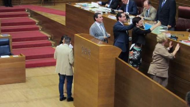 Votación en las Corts de los nuevos miembros de los órganos estatutarios