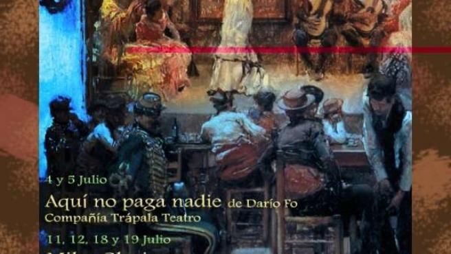 Cartel de 'Viana a escena'