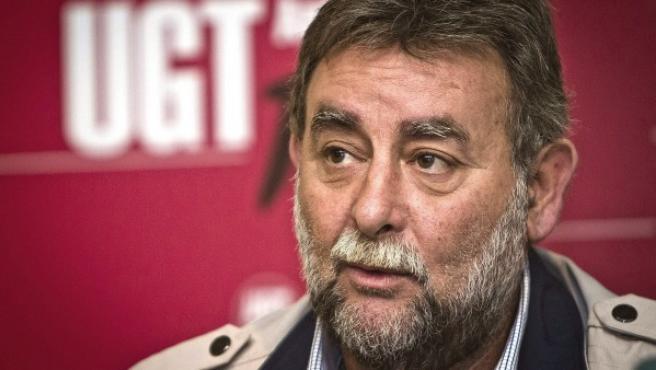 Fotografía de archivo de Francisco Fernández Sevilla, secretario general de UGT en Andalucía, que presentó su dimisión tras las informaciones sobre el presunto desvío de fondos destinados a planes de formación para otros asuntos.